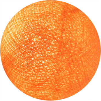 lichtoranje - L'Original ballen - La Case de Cousin Paul