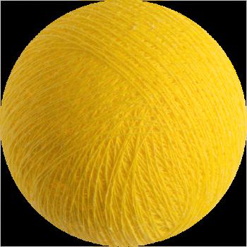 boule tissée pour guirlande lumineuse l'Original - jaune - Boules Tissées l'Original - La Case de Cousin Paul