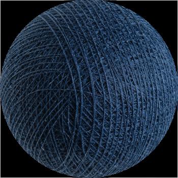 boule tissée pour guirlande lumineuse l'Original - bleu nuit - Boules Tissées l'Original - La Case de Cousin Paul