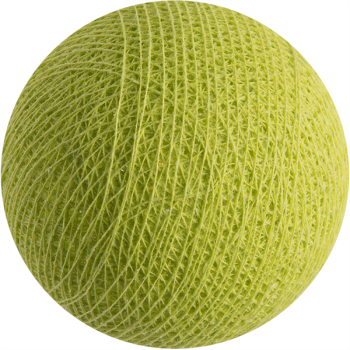 verde anís - Bolas l'Original - La Case de Cousin Paul