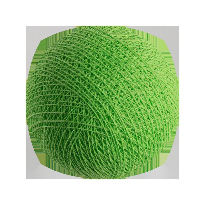 verde eléctrico - Bolas l'Original - La Case de Cousin Paul
