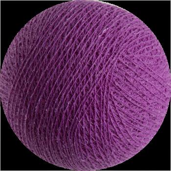 boule tissée pour guirlande lumineuse l'Original - violet cardinal - Boules Tissées l'Original - La Case de Cousin Paul