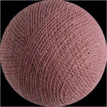 boule tissée pour guirlande lumineuse l'Original - vieux rose - Boules Tissées l'Original - La Case de Cousin Paul