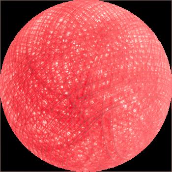 boule tissée pour guirlande lumineuse l'Original - rose bonbon - Boules Tissées l'Original - La Case de Cousin Paul