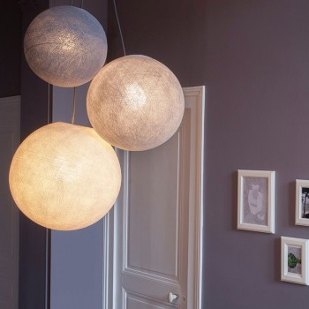 """Driedubbele lamp """"Cotopaxi"""" - Driedubbele lamp - La Case de Cousin Paul"""