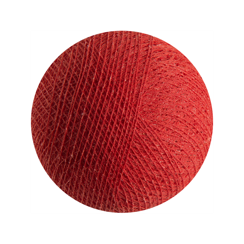 rosso - Palle Outdoor - La Case de Cousin Paul