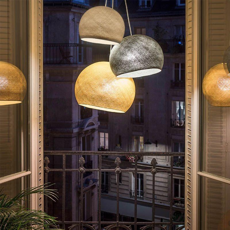 """Driedubbele lamp """"Paris by night"""" - Driedubbele lamp - La Case de Cousin Paul"""