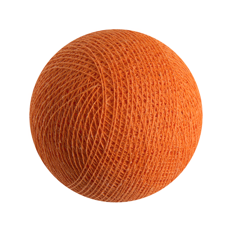 Draussen Leuchtgirlande Orange - Outdoor Kugeln - La Case de Cousin Paul