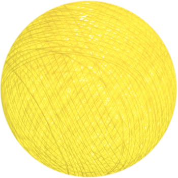 Äußere Nachtlicht Kugeln Gelb - Kugeln Outdoor  - La Case de Cousin Paul