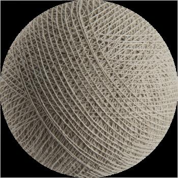 Boule tissée pour guirlande Outdoor argile - Boules Tissées Outdoor - La Case de Cousin Paul
