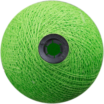 Boule tissée pour guirlande Outdoor vert flash - Boules Tissées Outdoor - La Case de Cousin Paul