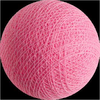 Boule tissée pour guirlande Outdoor rose clair - Boules Tissées Outdoor - La Case de Cousin Paul