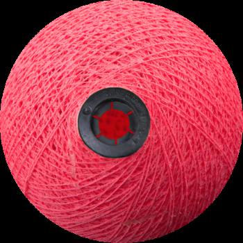 Boule tissée pour guirlande Outdoor rose bonbon - Boules Tissées Outdoor - La Case de Cousin Paul