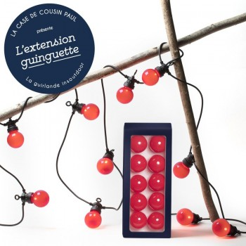 coffret extension LED guinguette Citrouille