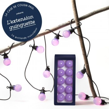 Extension Guinguette Lavande - Guinguette gift boxes  - La Case de Cousin Paul