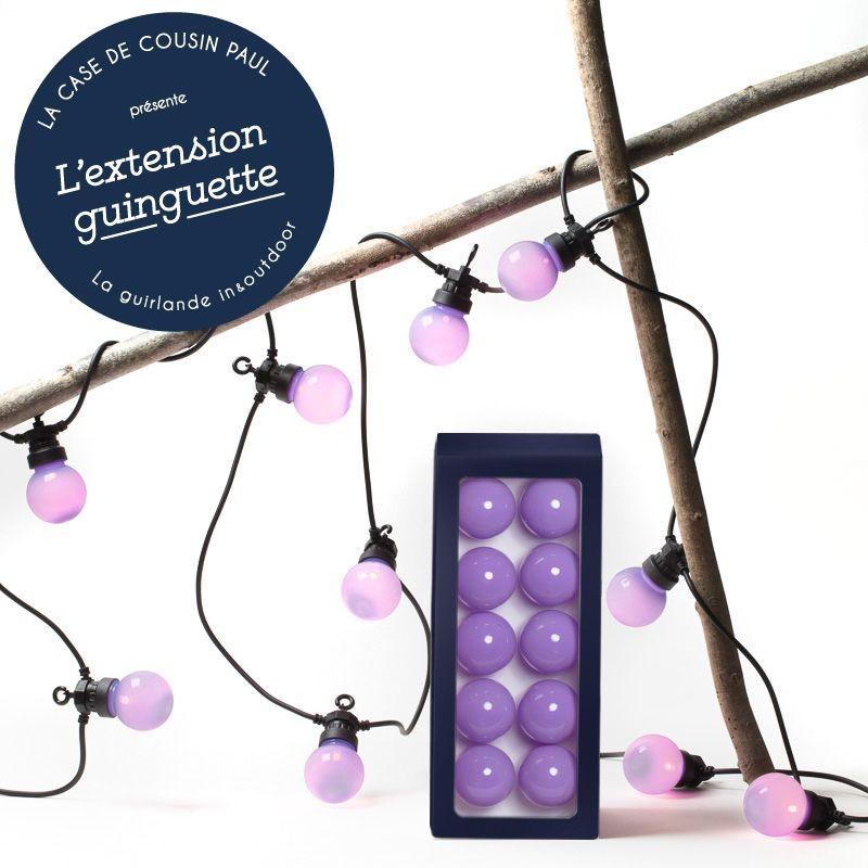 Extension Guinguette Lavande - Outdoor gift boxes  - La Case de Cousin Paul
