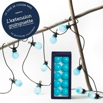 extension guirlande LED guinguette Pacifique