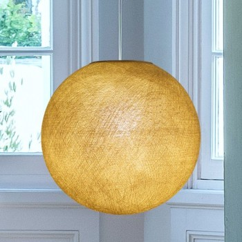 mustard - Lampshades globe - La Case de Cousin Paul
