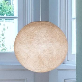Lampenschirm Globus Leinen - Lampenschirm Globus - La Case de Cousin Paul