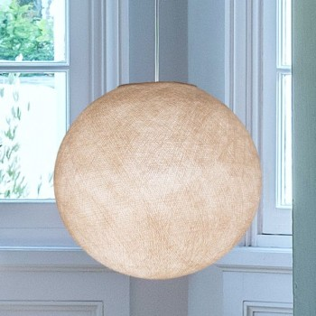 linen - Lampshades globe - La Case de Cousin Paul