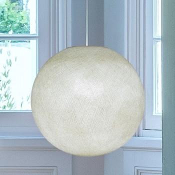 ivory - Lampshades globe - La Case de Cousin Paul