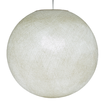 Lampenschirme Einzeln Globus Elfenbein - Lampenschirm globus - La Case de Cousin Paul
