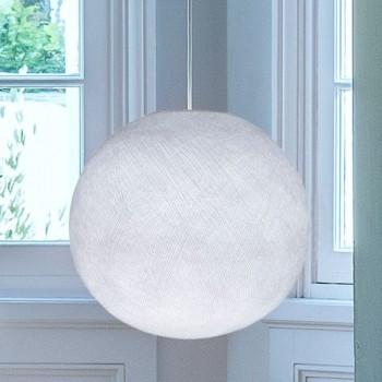Lampenschirm Globus Weiβ - Lampenschirm Globus - La Case de Cousin Paul