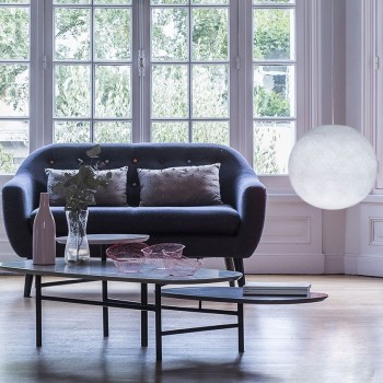 white - Lampshades globe - La Case de Cousin Paul