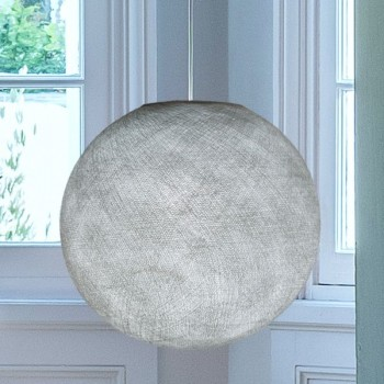grigio perla - Coprilampada sfere - La Case de Cousin Paul