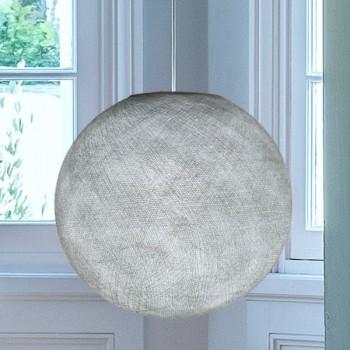 Lampenschirm Globus Perlgrau - Lampenschirm Globus - La Case de Cousin Paul