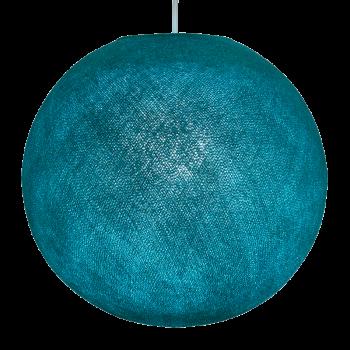 Lampenschirme Einzeln Globus Türkis - Lampenschirm globus - La Case de Cousin Paul