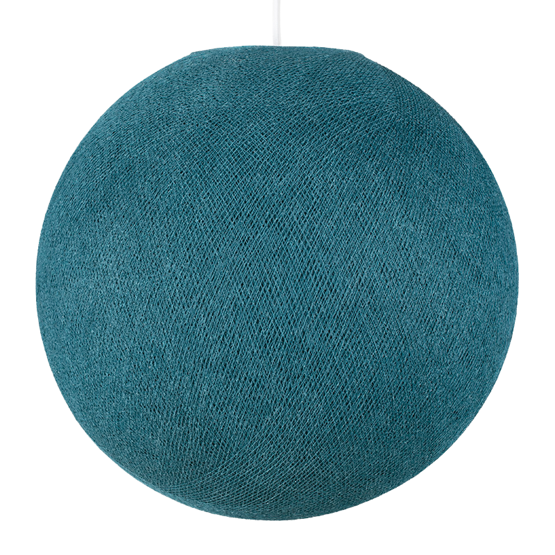 duck blue - Lampshades globe - La Case de Cousin Paul