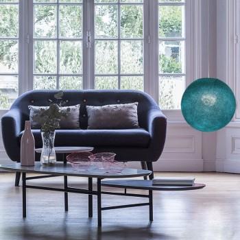 Lampenschirme Einzeln Globus Entenblau - Lampenschirm globus - La Case de Cousin Paul