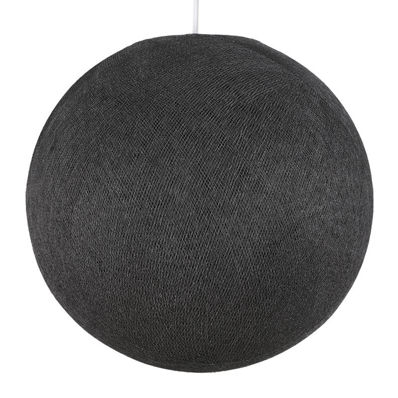 Globe anthracite éteint
