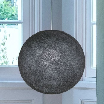 Globe anthracite allumé