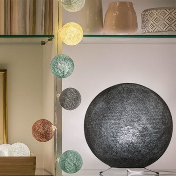 graphite - Lampshades globe - La Case de Cousin Paul