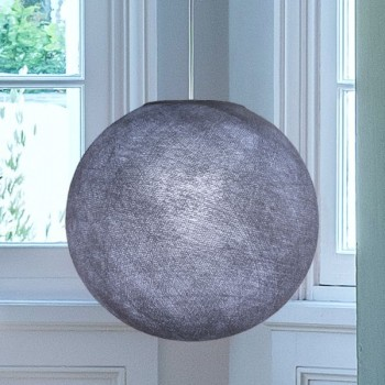 lilac grey - Lampshades globe - La Case de Cousin Paul