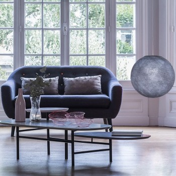 lilac grey - Lampshades globe - La Case de Cousin Paul