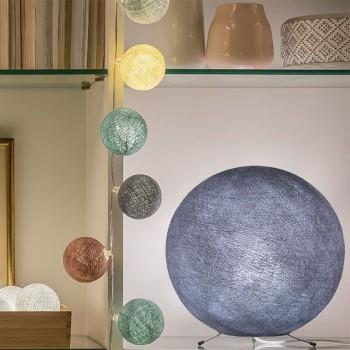 Globe gris lilas - Abat-jour globe - La Case de Cousin Paul