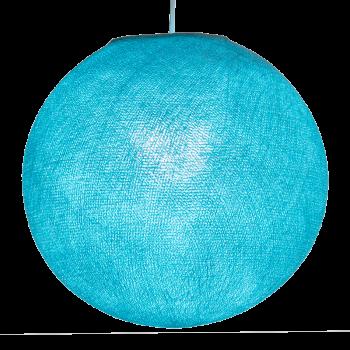 Globe aqua allumé