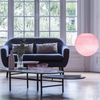 powdered pink - Lampshades globe - La Case de Cousin Paul
