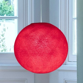 Vermillon - Lampshades globe - La Case de Cousin Paul