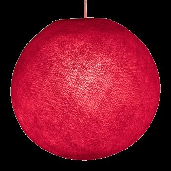 Lampenschirme Einzeln Globus Rot - Lampenschirm globus - La Case de Cousin Paul