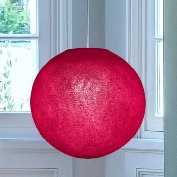 Globe framboise - Abat-jour globe - La Case de Cousin Paul