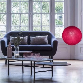 rosso fragola - Coprilampada sfere - La Case de Cousin Paul