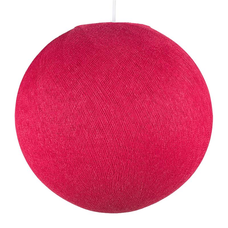 raspberry pink - Lampshades globe - La Case de Cousin Paul