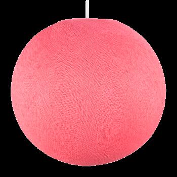 Globe rose bonbon - Abat-jour globe - La Case de Cousin Paul
