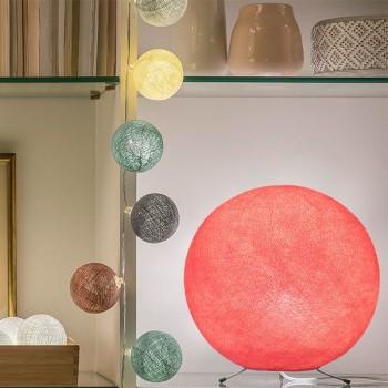 Lampenschirme Einzeln Globus Bonbonrosa - Lampenschirm globus - La Case de Cousin Paul