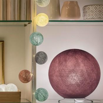 Lampenschirme Einzeln Globus Altrosa - Lampenschirm globus - La Case de Cousin Paul