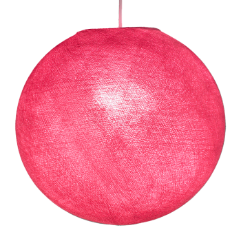 Globe rose - Abat-jour globe - La Case de Cousin Paul